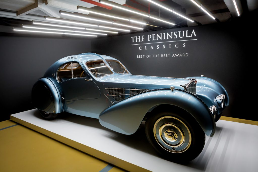 CHANTILLY HONOURED AT THE PENINSULA CLASSICS