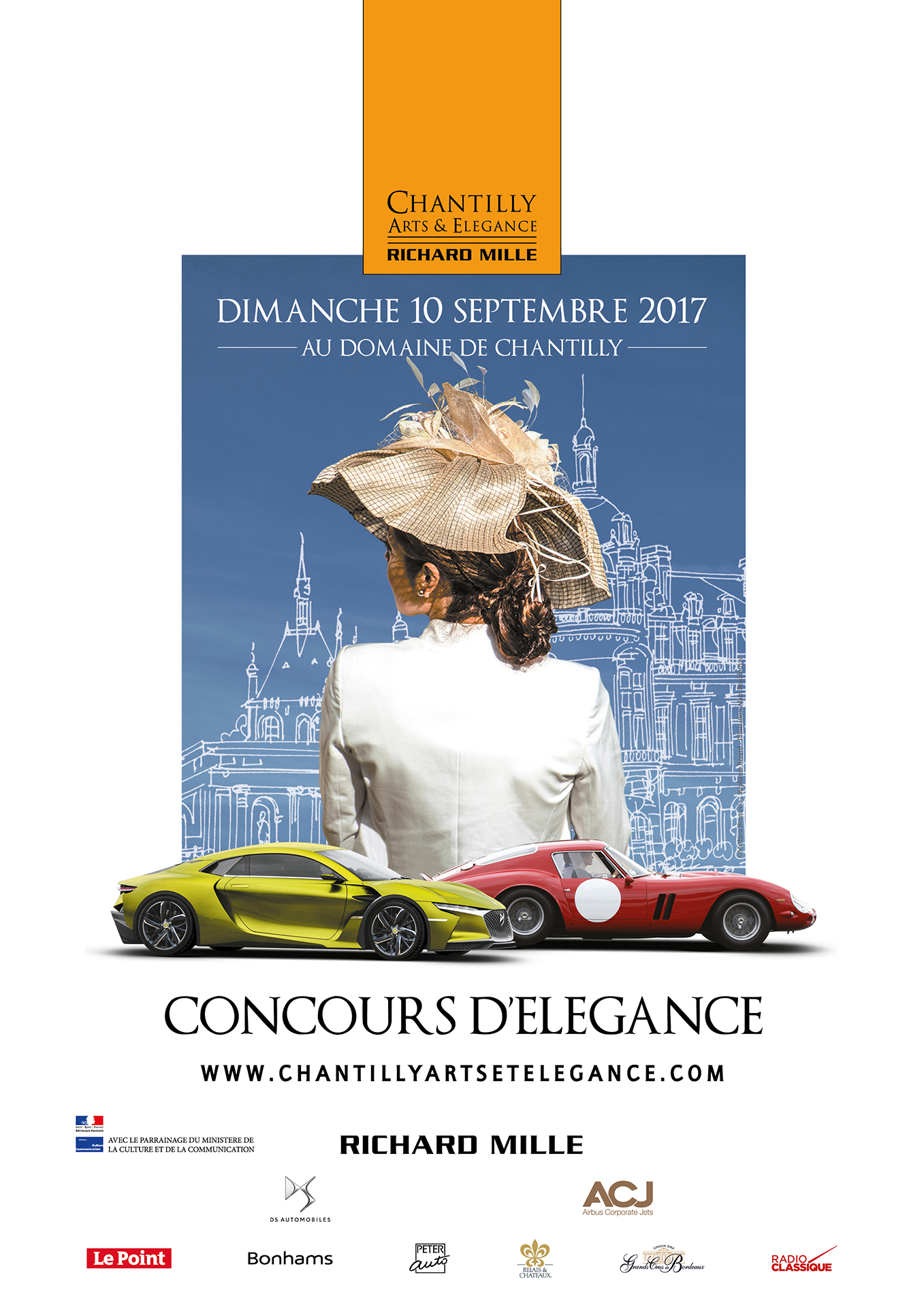 Affiche Chantilly ARts & Elegance Richard Mille 2017