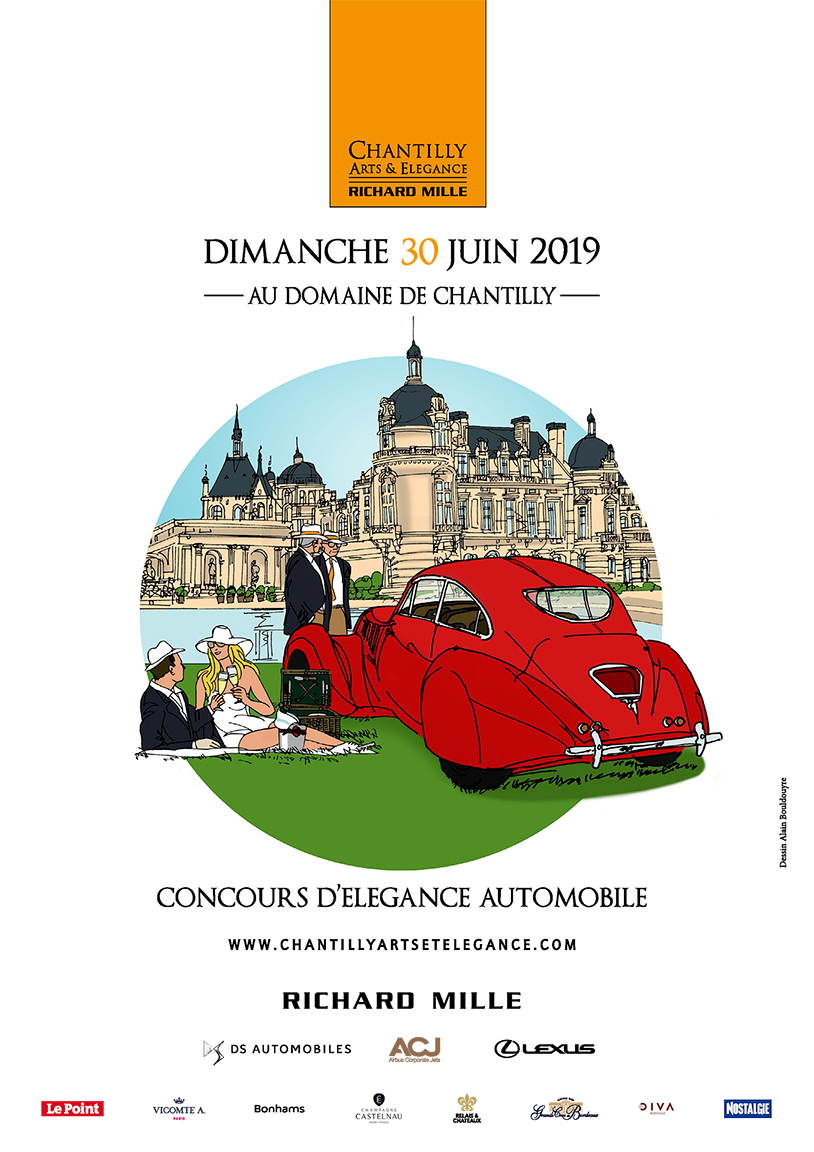 Affiche Chantilly ARts & Elegance Richard Mille 2019